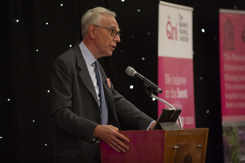 Sir Richard Thompson honouring the Queen's Nurses at the annual awards ceremony in London taken by Kate Stanworth