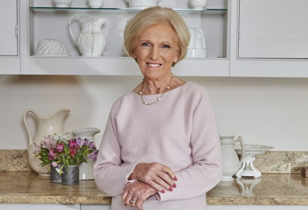 Mary Berry in her kitchen