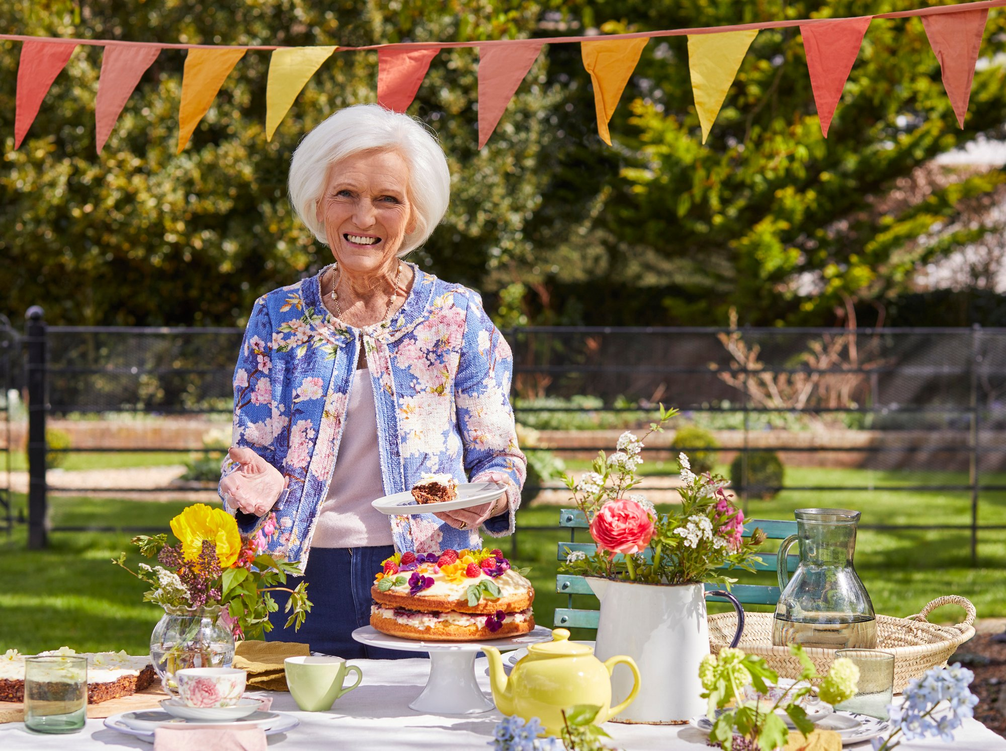 Mary Berry launches our Great British Garden Party