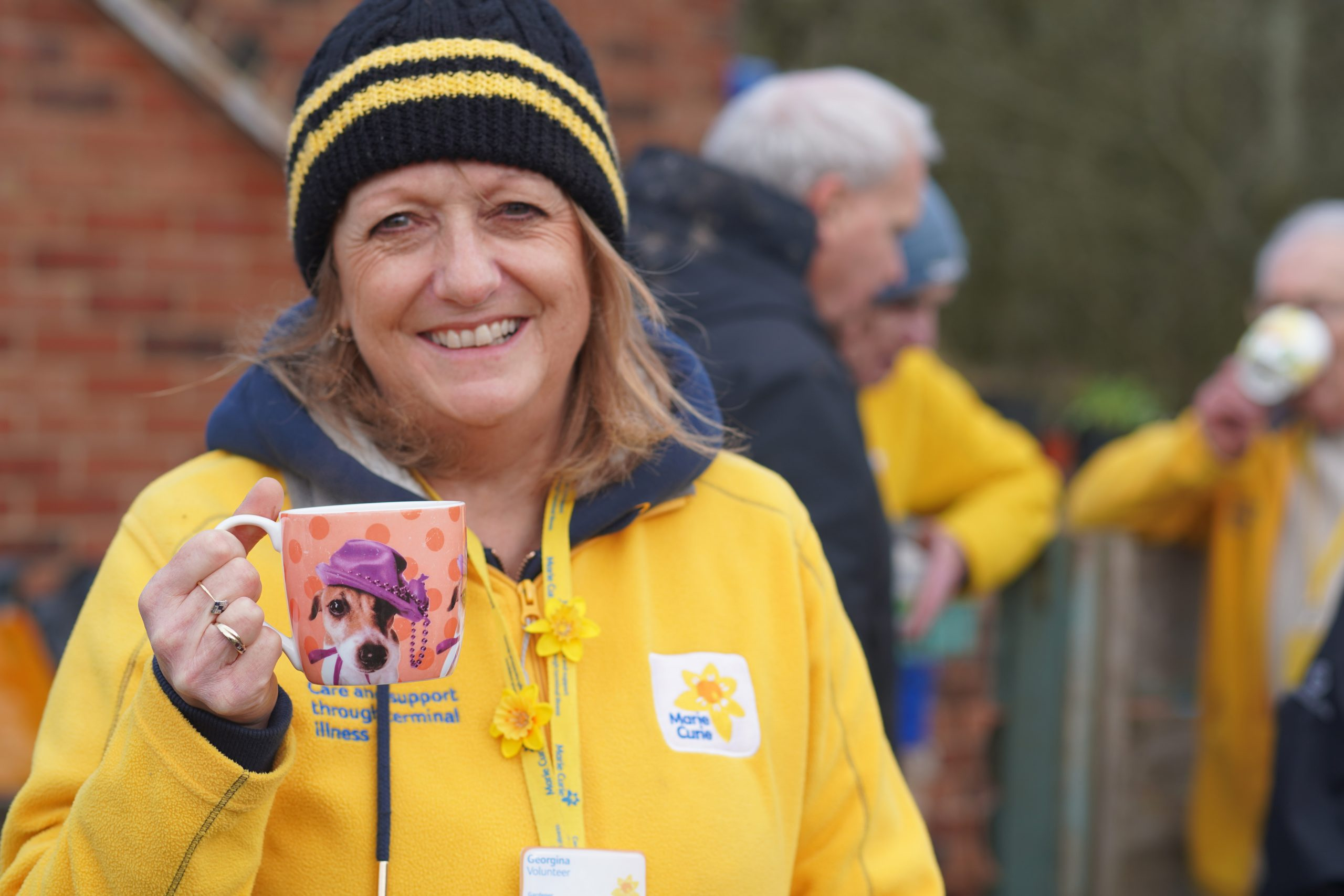 Marie Curie volunteer Solihull