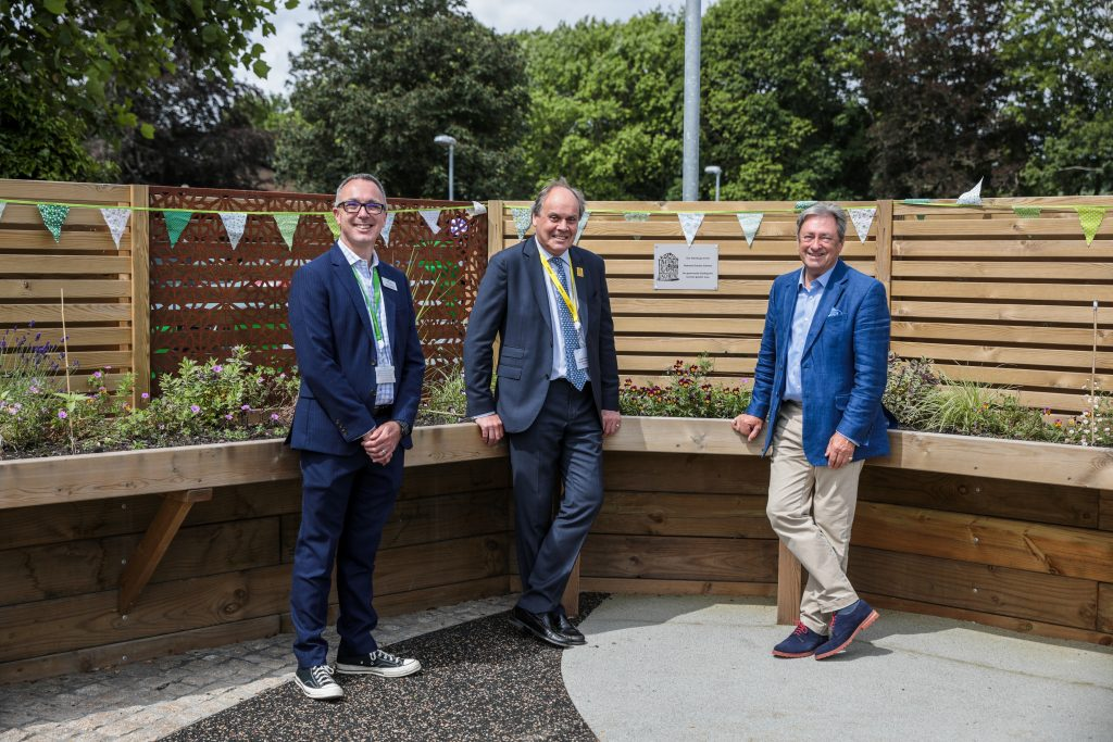 Alan Titchmarsh, George Plumptre and Ryan Campbell - Treloars